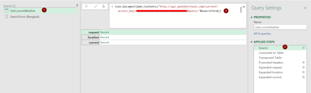 วิธีใช้ Power Query ดึงข้อมูลจาก Web API : ตอนที่ 1 19