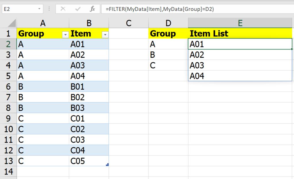 หลากวิธีเอาข้อมูลในกลุ่มเดียวกันไปรวมเป็นข้อความเดียวกัน 3