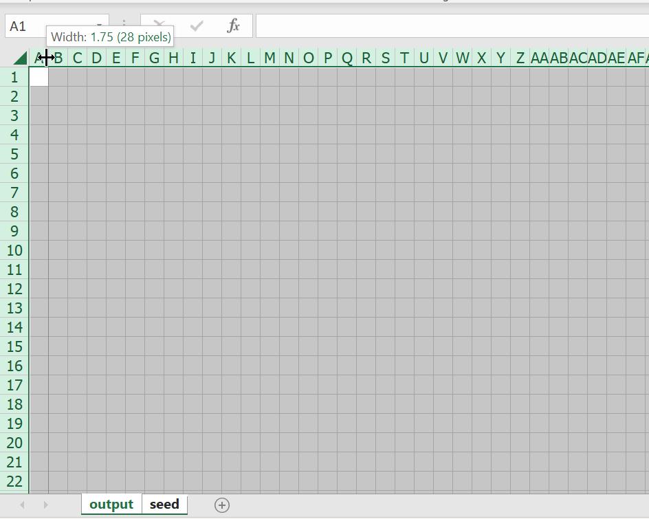 มาสร้าง Simulation ชื่อว่า Conway's Game of Life ใน Excel กัน 1