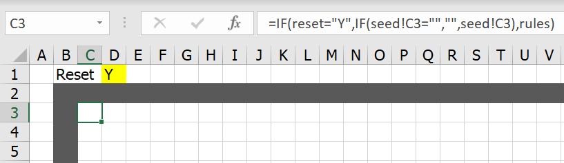 มาสร้าง Simulation ชื่อว่า Conway's Game of Life ใน Excel กัน 6
