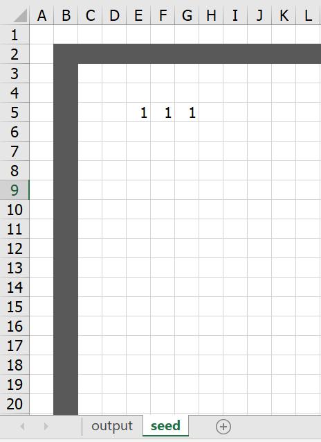 มาสร้าง Simulation ชื่อว่า Conway's Game of Life ใน Excel กัน 3
