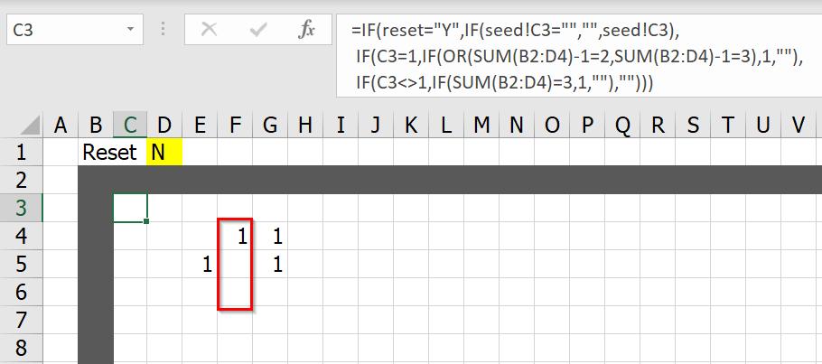 มาสร้าง Simulation ชื่อว่า Conway's Game of Life ใน Excel กัน 8