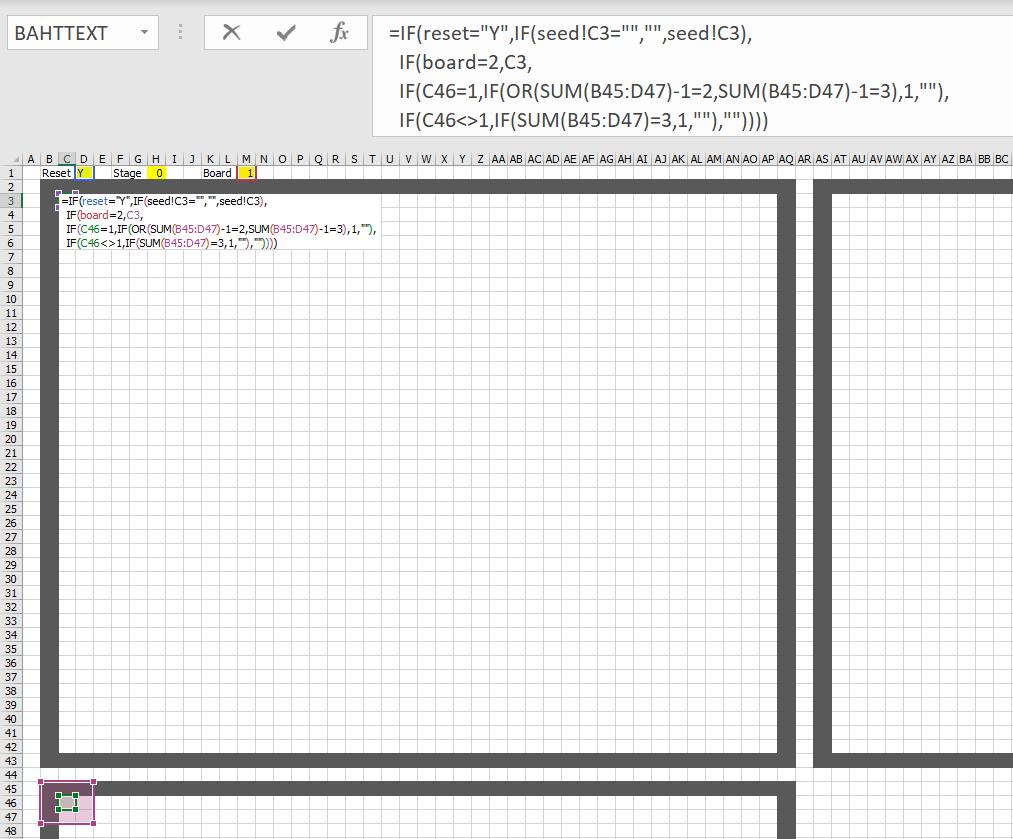 มาสร้าง Simulation ชื่อว่า Conway's Game of Life ใน Excel กัน 11