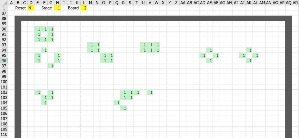 มาสร้าง Simulation ชื่อว่า Conway's Game of Life ใน Excel กัน 17