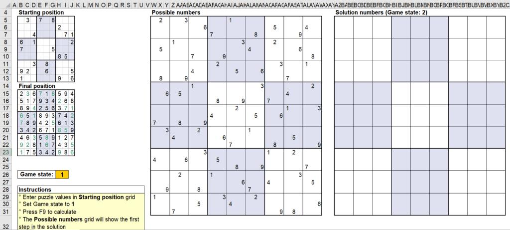สอนใช้งานและแกะสูตร Template Sudoku Solver ของ Microsoft - Part1 5