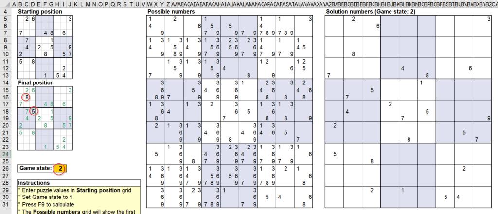 สอนใช้งานและแกะสูตร Template Sudoku Solver ของ Microsoft - Part1 9