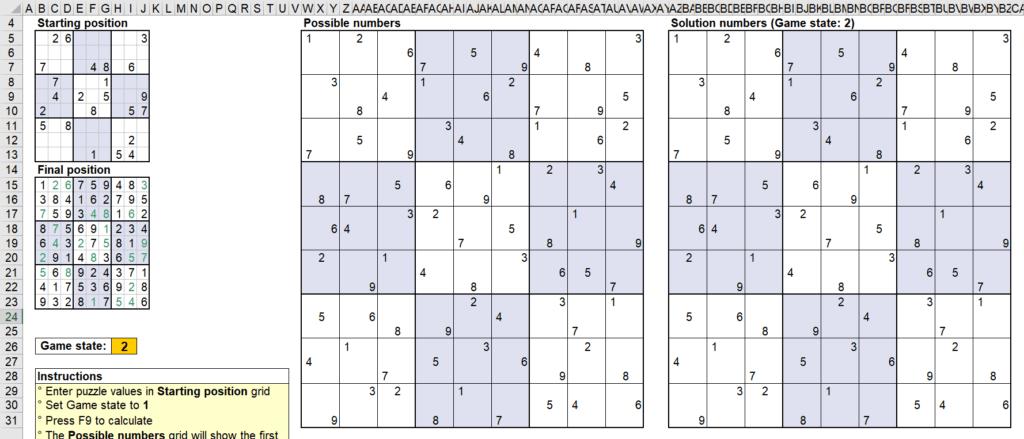 สอนใช้งานและแกะสูตร Template Sudoku Solver ของ Microsoft - Part1 10