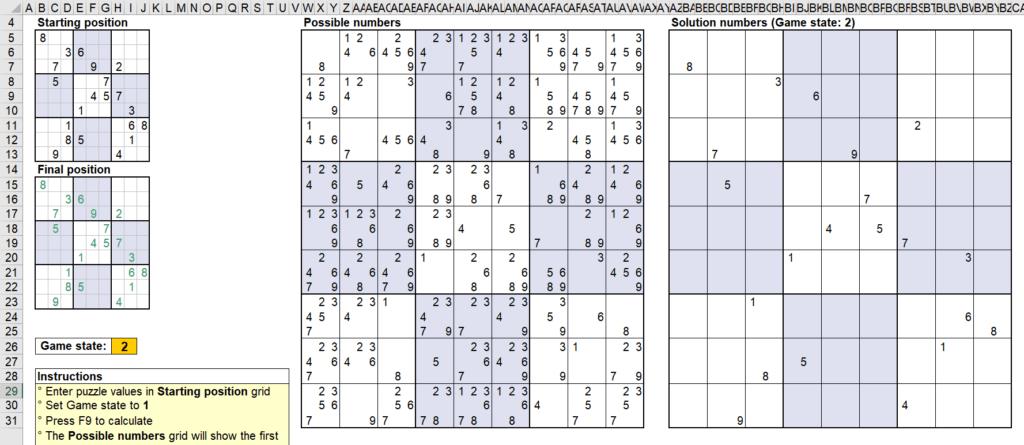 สอนใช้งานและแกะสูตร Template Sudoku Solver ของ Microsoft - Part1 13