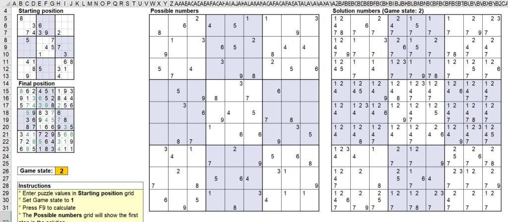 สอนใช้งานและแกะสูตร Template Sudoku Solver ของ Microsoft - Part1 15