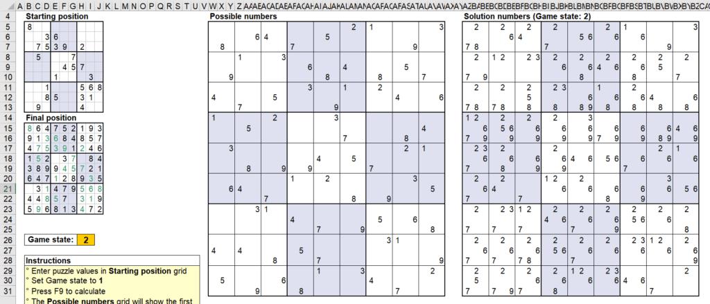 สอนใช้งานและแกะสูตร Template Sudoku Solver ของ Microsoft - Part1 16