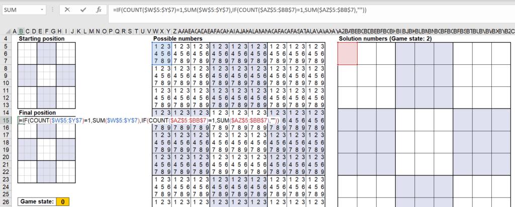 สอนใช้งานและแกะสูตร Template Sudoku Solver ของ Microsoft – Part2 1
