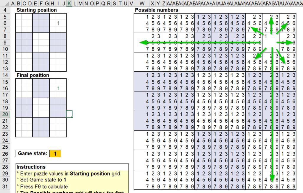 สอนใช้งานและแกะสูตร Template Sudoku Solver ของ Microsoft – Part2 6