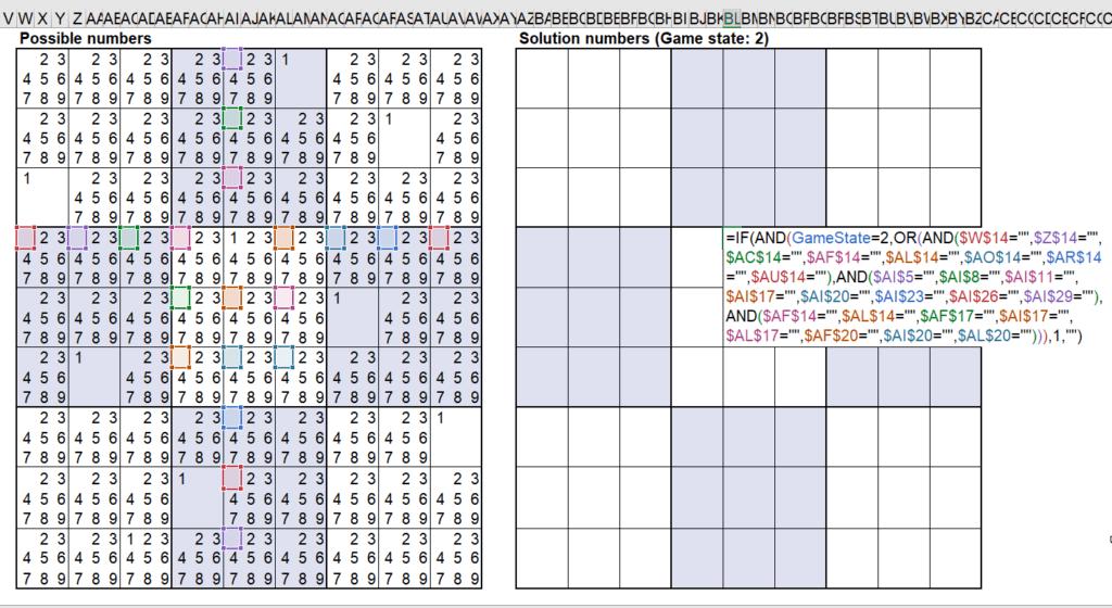 สอนใช้งานและแกะสูตร Template Sudoku Solver ของ Microsoft – Part2 8