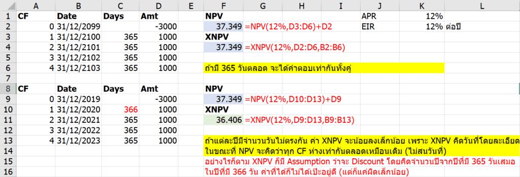 อธิบายละเอียดยิบเรื่องการเงิน NPV, XNPV, IRR, XIRR ต่างกันยังไง ใช้อะไรดี? 10